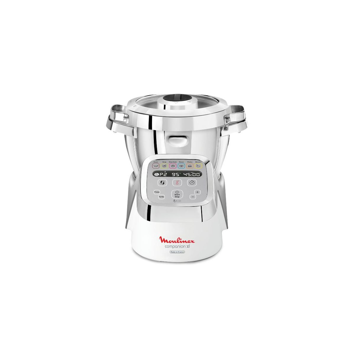 Moulinex Robot Cooker 3l 8 10 People 12 Speeds Book 300 Recipes