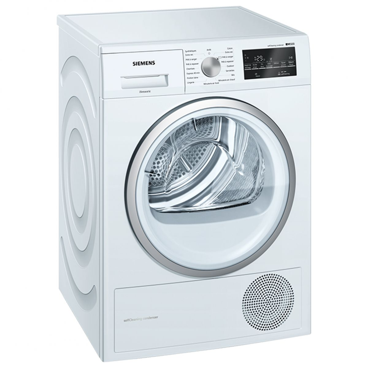 siemens seche linge hublot pompe a chaleur 8kg a tambour. Black Bedroom Furniture Sets. Home Design Ideas