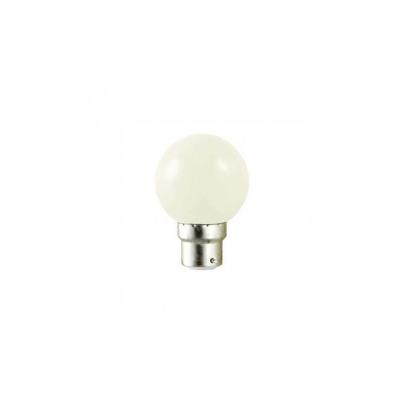 ampoule led b22 bulb blanc froid 1w 10w 6000 k. Black Bedroom Furniture Sets. Home Design Ideas