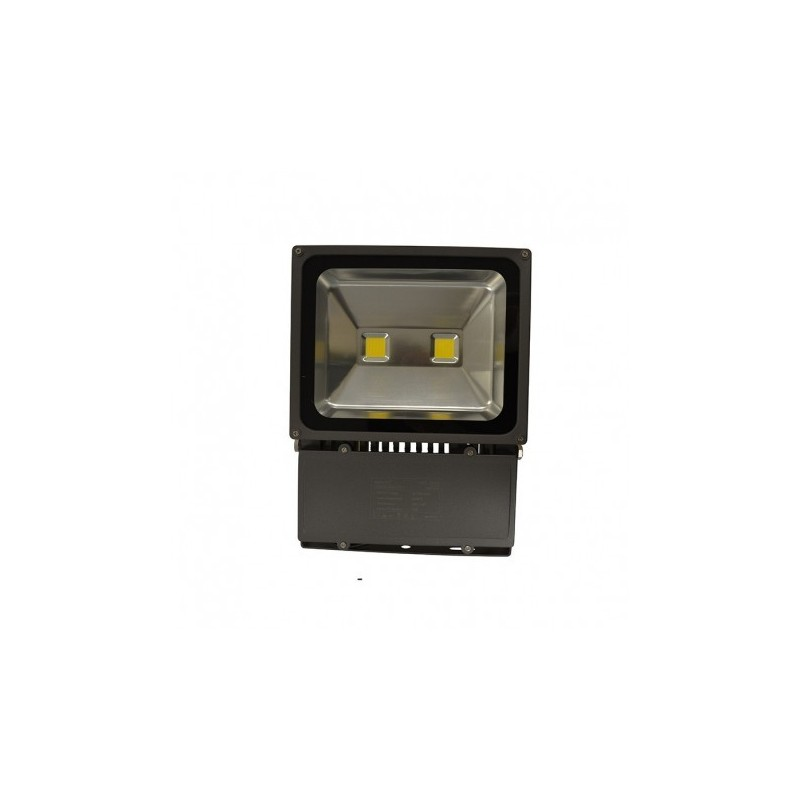 Projecteur gris anthracite 100w 900w ip65 led blanc jour for Projecteur led exterieur 100w