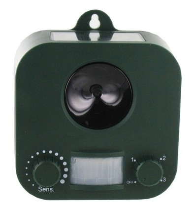 Weitech garden protector solaire r pulsif ultrason chat chien wk0053 - Repulsif chat ultrason ...